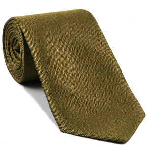 Gold Mulberrywood Weave Silk Tie #MWT-16