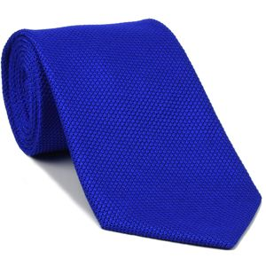 Royal Blue Grenadine Fina Silk Tie #GFT-14