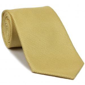 Corn Yellow Grenadine Fina Silk Tie #GFT-27
