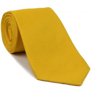 Yellow Gold Grenadine Fina Silk Tie #GFT-29