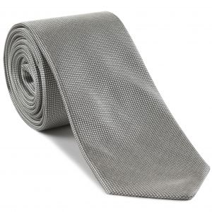 Silver Formal/Wedding Silk Tie #WDT-21