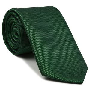 Green Diamond Weave Silk Tie #FFDT-24