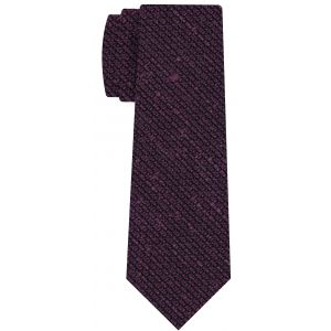 Purple Shantung Grenadine Grossa Silk Tie #SHGT-8