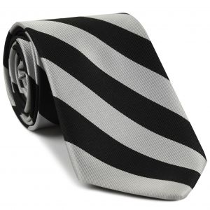 Magdalen College Oxford Stripe Silk Tie #UKU-11