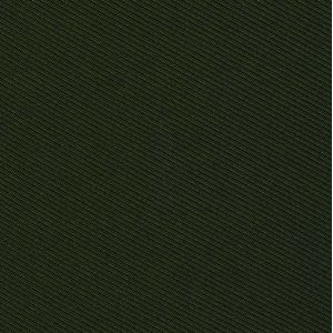 Forest Green Twill Madder Solid Silk # 7