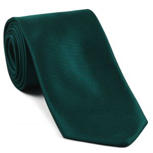 Green with Blue Large Twill Silk Tie #9